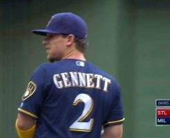 14 246x200 - スクーター・ジェネットの守備や打撃。1試合4本塁打で大ブレイク!