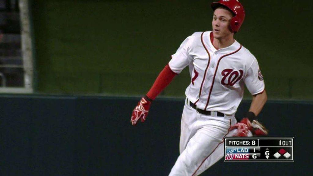 トレイ・ターナーの守備や打撃。MLB最高クラスの俊足!
