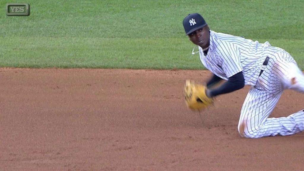 ディディ・グレゴリウスの守備や打撃。ヤンキース球団記録を持つショート