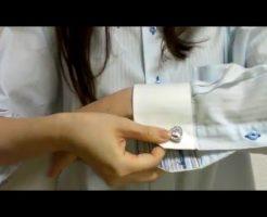 1154 246x200 - カフリンクスが使えない袖も。シンプルな合わせ方でおしゃれ女子受けは狙わない