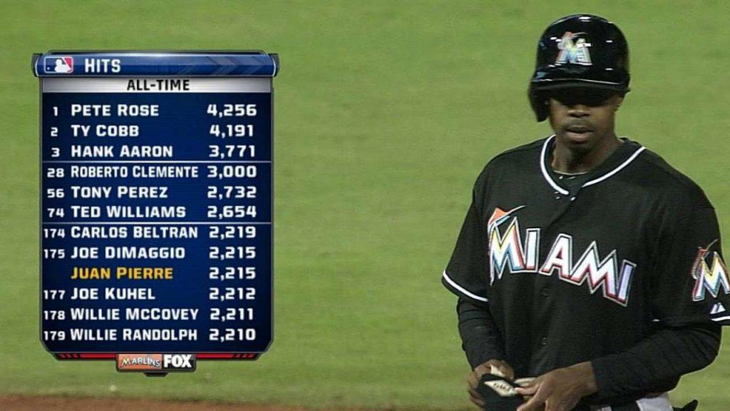 フアン・ピエールの守備や打撃。通算600盗塁の俊足巧打の外野手