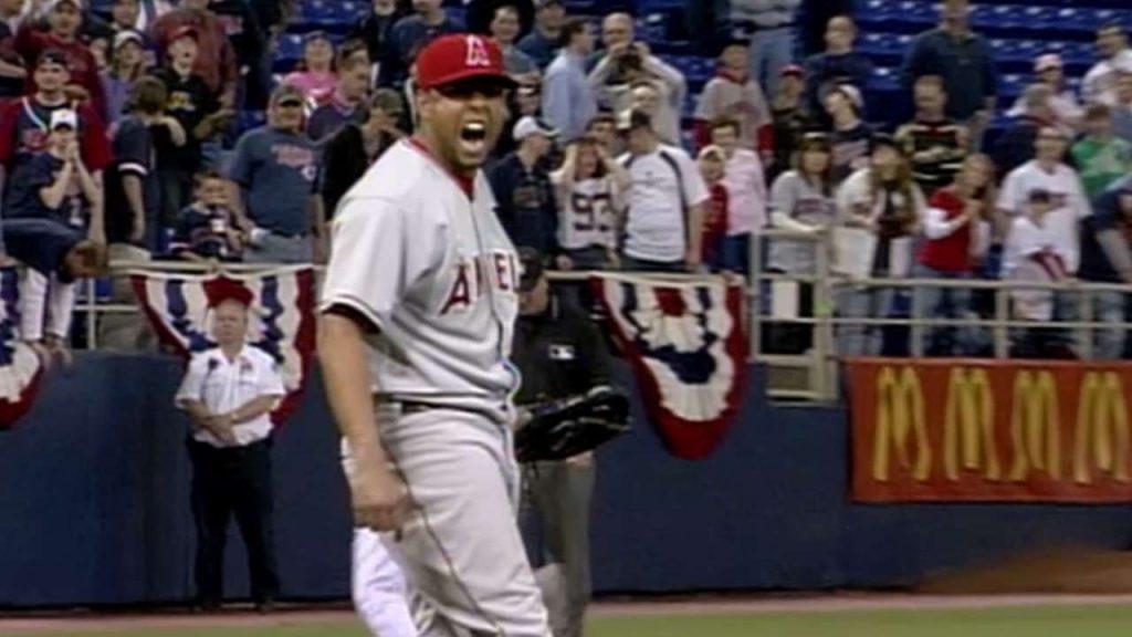 フランシスコ・ロドリゲス(K・ロッド)の投球。MLBシーズンセーブ記録保持者