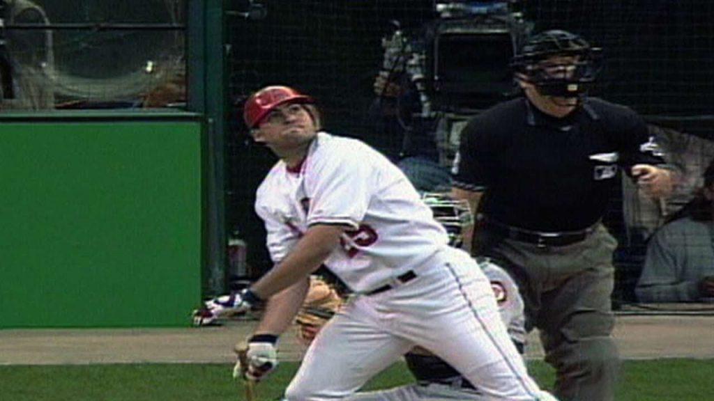 トロイ・グロースのハイライト。02年ワールドシリーズのMVPである強打者