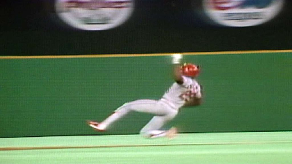 ビンス・コールマンの盗塁などハイライト。6年連続盗塁王のスピードスター
