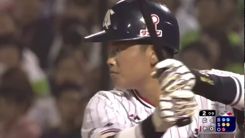 村上宗隆(ヤクルト)の打撃スイング動画。侍ジャパンに最年少選出