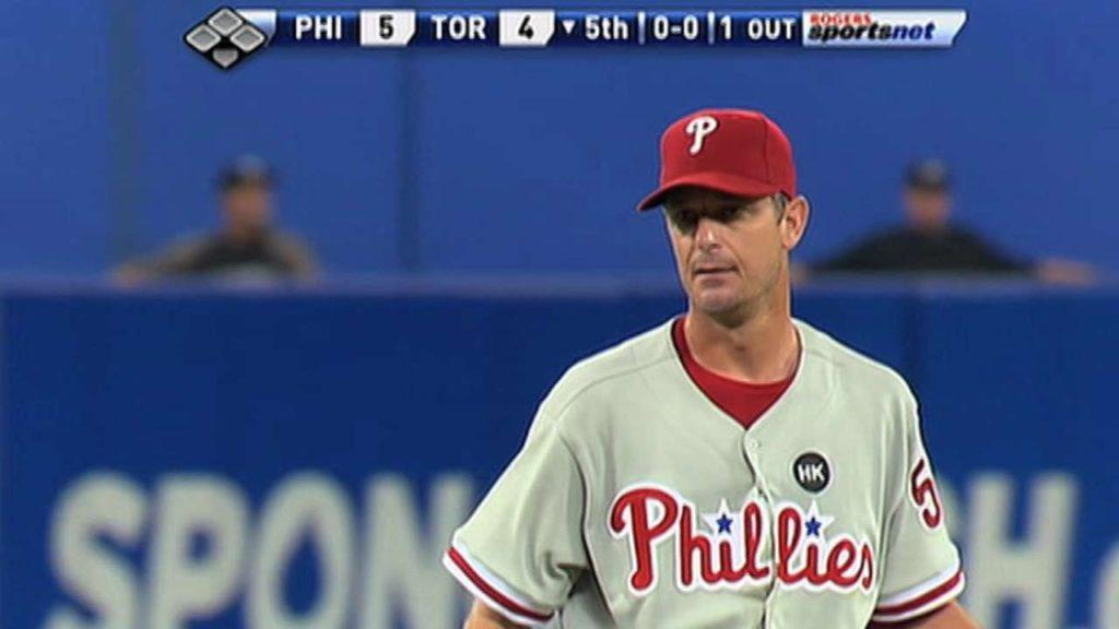 ジェイミー・モイヤーの投球。MLB史上最年長勝利投手の技巧派左腕