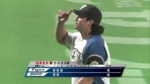 ルイス・メンドーサの投球。日ハムや阪神でプレーしたメキシカン