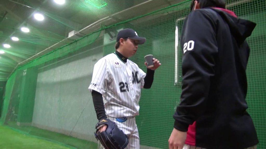 松永昂大(ロッテ)の投球、ブルペン動画も!侍ジャパン選出リリーフ左腕