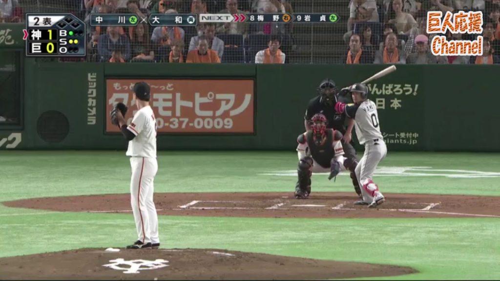 中川皓太(巨人)の投球。投球フォーム変更でブレイクの兆しを見せた左腕