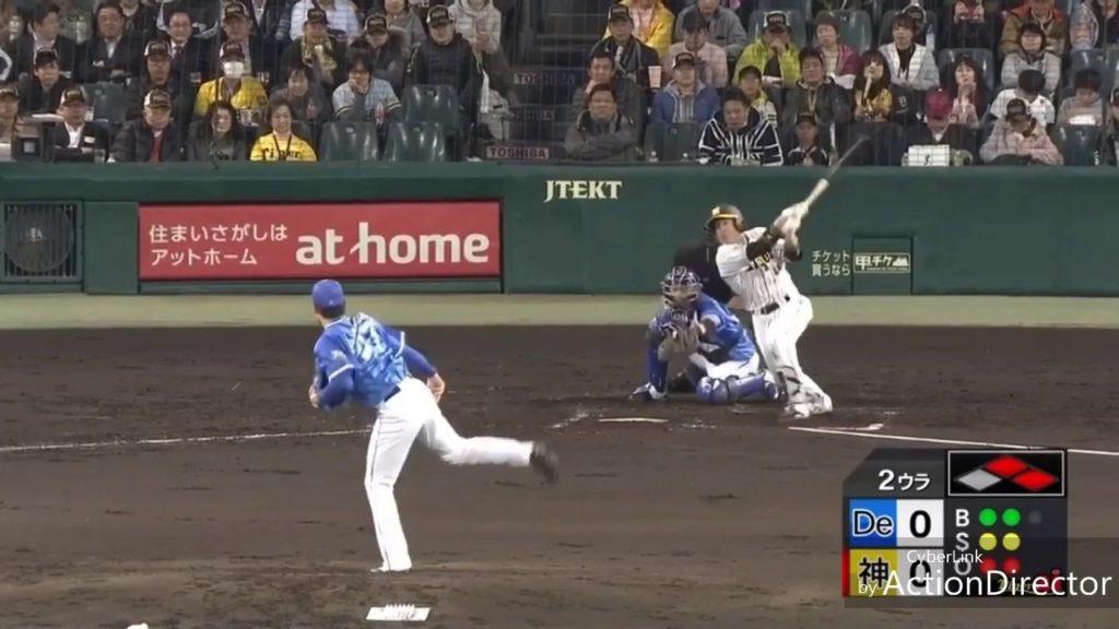 梅野隆太郎がラッキーなサイクルヒットを達成!阪神タイガース正捕手