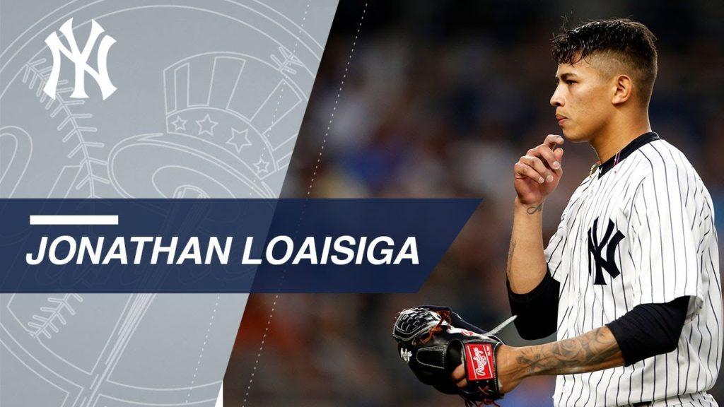 ジョナサン・ロアイシガの投球。ヤンキースの故障がちな小柄な有望株投手