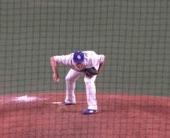 7149 246x200 - 鈴木博志(中日)がキンブレルのような投球前ルーティンを見せる!