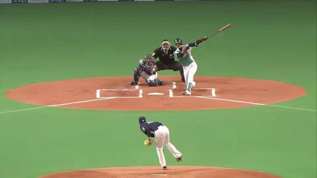 多和田真三郎(西武)の投球。スライダーが良くあわや完全試合のピッチングも!