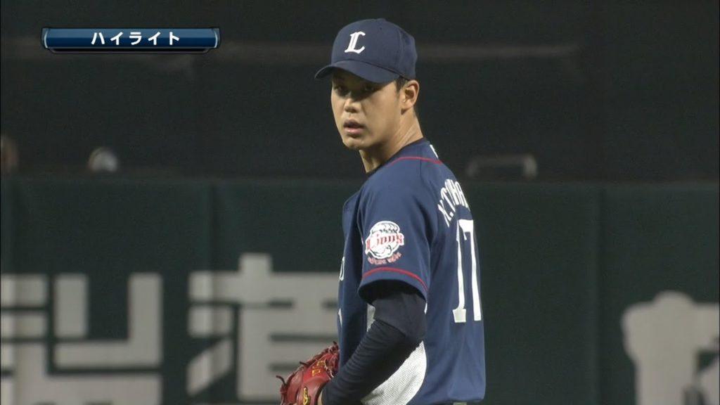 高橋光成(西武ライオンズ)の投球。長身でフォークも冴えるドラ1投手