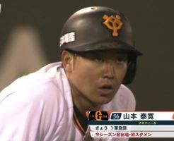 7318 246x200 - 山本泰寛(巨人)の守備好プレー。好走塁も話題になった慶応出身内野手