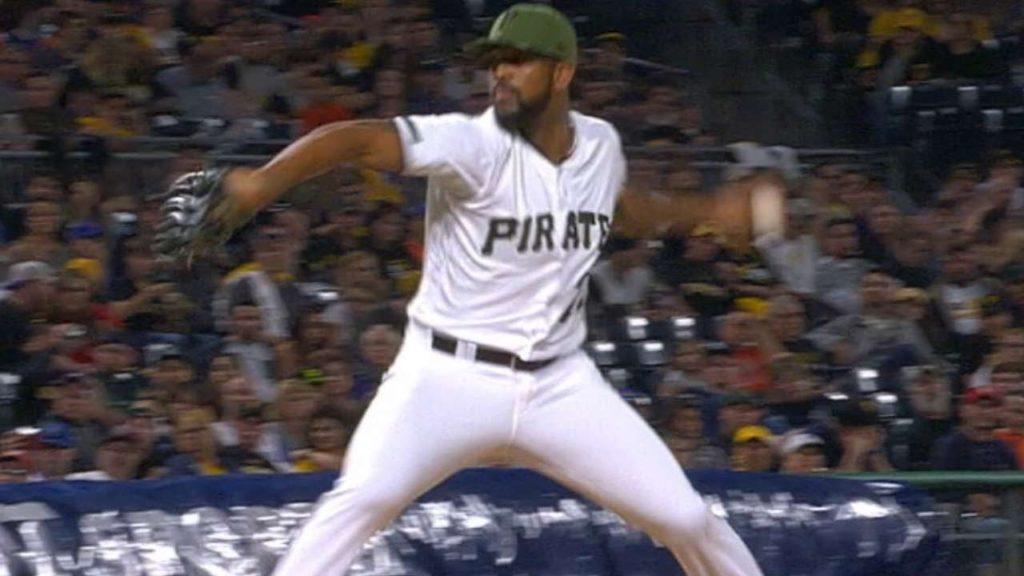 フェリペ・バスケスの投球。MLBを代表するクローザーになったパイレーツの投手