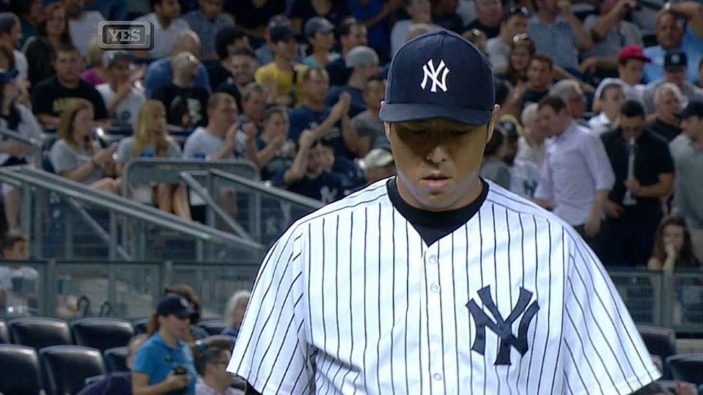 黒田博樹のMLBでの投球。ドジャースとヤンキースで安定した投球を見せる