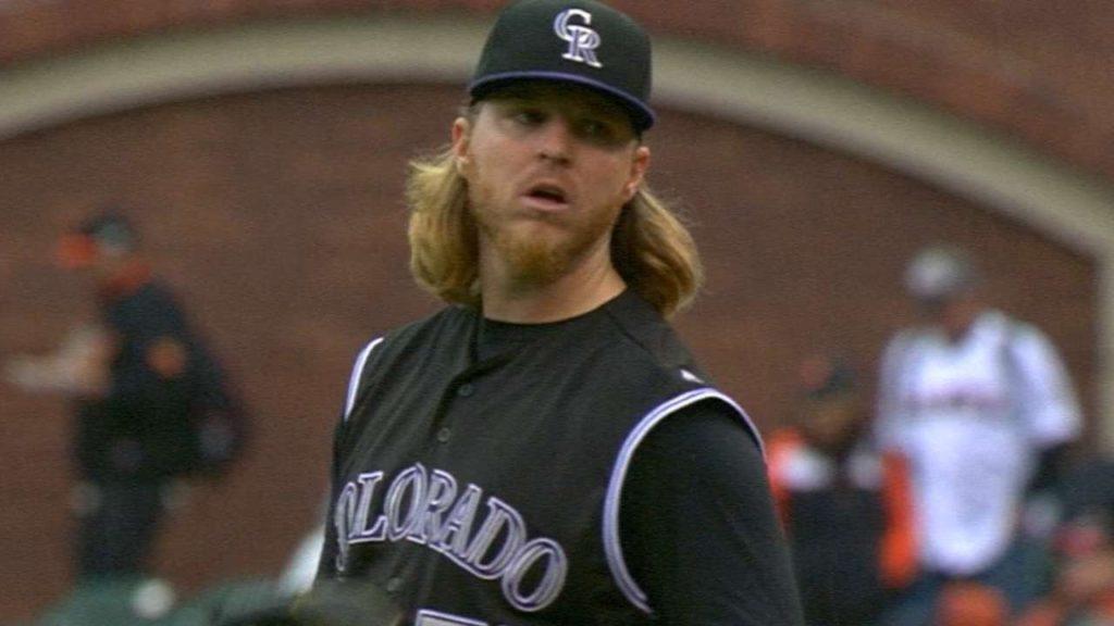 ジョン・グレイ(MLB投手)の投球。ロッキーズのエース格として期待