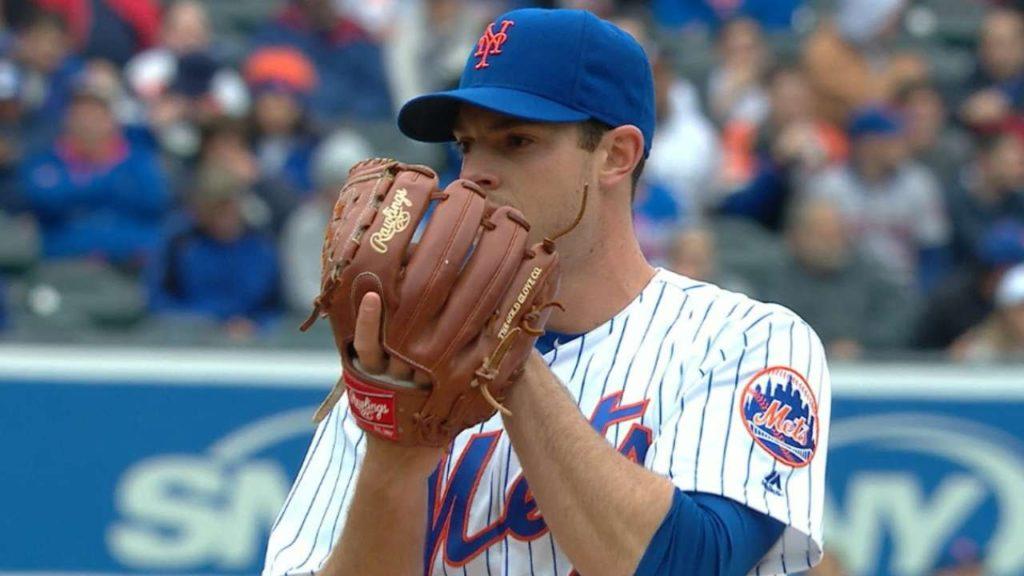 スティーブン・マッツの投球。打撃に優れたメッツの先発左腕