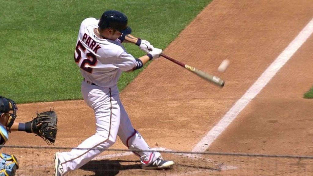パク・ビョンホの打撃。MLBでもパワーを見せつけたスラッガー