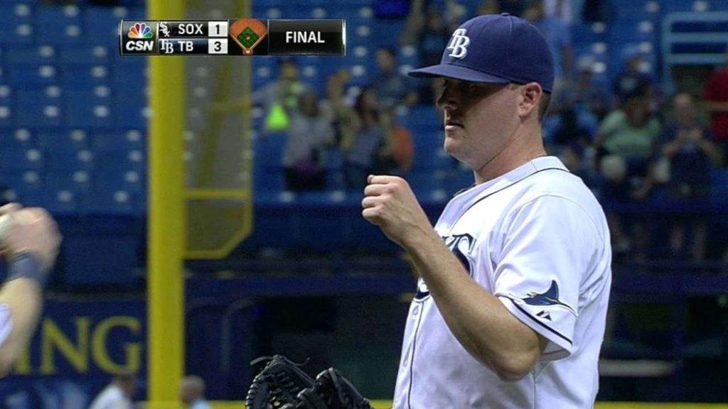 ジェイク・マギーの投球。ロッキーズで投げるストレート勝負の速球派左腕