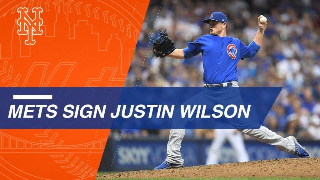 ジャスティン・ウィルソンの投球。19年はメッツで活躍した左腕